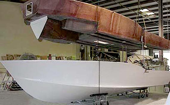 Boat Construction Materials : Strong seaworthy and safe fiberglass boats built using